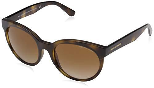 Michael Kors Damen CARTAGENA 333613 54 Sonnenbrille, Dark Tortoise/Browngradient,
