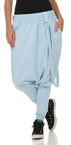 Sweatpants im Classic Look Boyfriendhose Baggy Jogginghose Sporthose H1206 Damen
