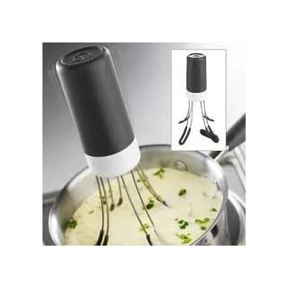 NEW STIR CRAZY AUTOMATIC HANDS FREE SAUCE COOKING STIRRER CLEVER GADGET!