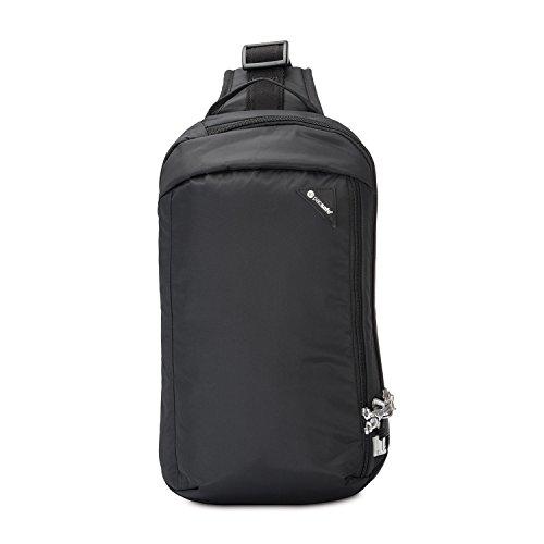 Pacsafe Vibe 325 - Anti-Diebstahl Cross-Body-Bag, Umhängetasche, Sling Bag, Schwarz/Black