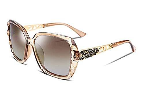 PFMY.DG Sonnenbrille Vintage Sonnenbrille im angesagte mit,Brillen Trends 2019,Metallic