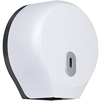 Bulk Pack Inter-Leaf Or Standard Roll Toilet Paper Dispenser Wall Mounted White