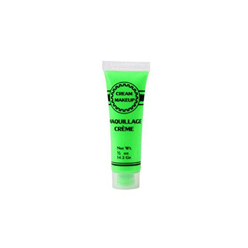 Ukallaite Let 's Party Glow in The Dark Night Running Sport Halloween Make-up Face Body Paint-A Rose Rot, Einfarbig, A Green (Diy Glow Body Paint)