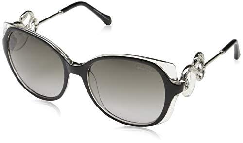 Roberto Cavalli Damen RC1035 01B 56 Sonnenbrille, Blau,