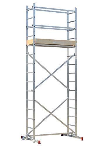 Strukturo Fahrgerüst Arbeitshöhe 5 m Rollgerüst Leichter Aufbau