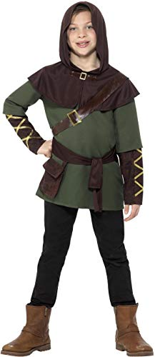 Smiffys Robin Hood Boy Kostüm Größe M Kinder Karneval Fasching Carnival 47646