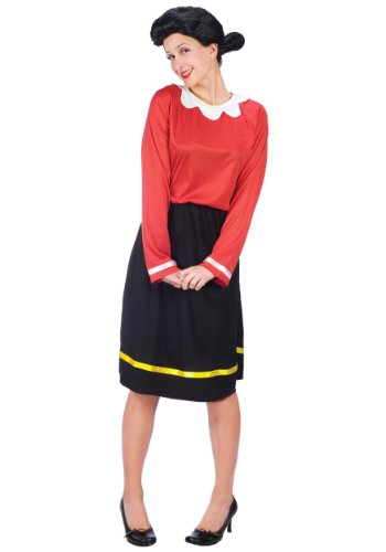 Adult Olive Oyl Fancy dress costume X-Small (Olive Kostüm Popeye)