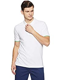 Amazon Brand - Symbol Men's Plain Regular Fit Polo