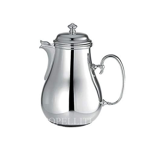 Christofle Kaffeekanne aus Legierung Silber serviert 8 TZ Modell Albì. Hinweis: Wegwerfende Gegenstände