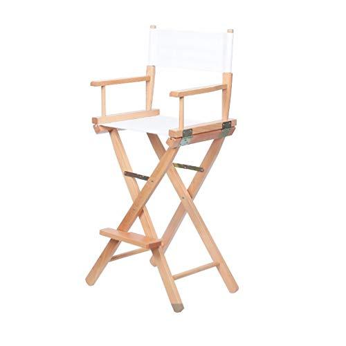 VAIY Artist Director Chair, Klappbarer Make-up-Holzstuhl Canvas-Stuhl