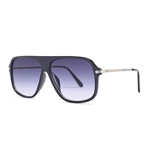 Kjwsbb Unisex Fashion Sonnenbrillen Damen Designer Sonnenbrillen Black Square Sunglass Women