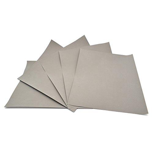 5Blatt–Körnung 3000Wasserfestes Papier nass/trocken Siliziumkarbid voller Größe 230* 280mm Schleifpapier