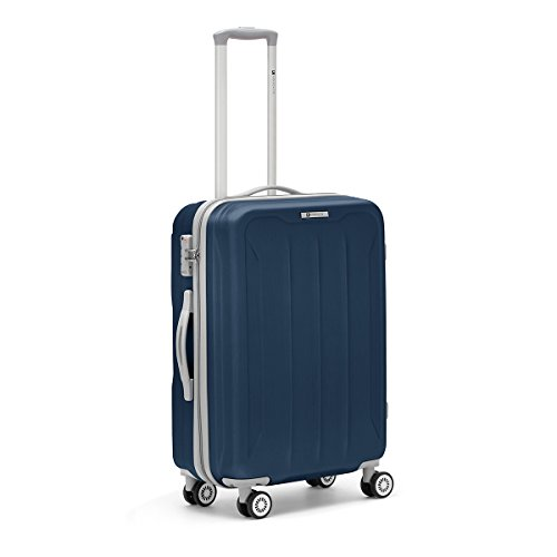 R Roncato Flight 4R Trolley 66 cm, Blu Navy