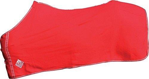 ELDORADO Fleecedecke - rot - 125 cm