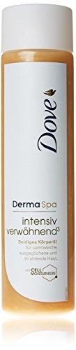 Dove DermaSpa Seidiges Körperöl intensiv verwöhnend³, 1er Pack (1 x 150 ml)