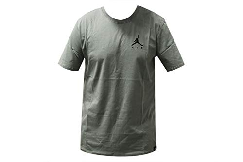 the best attitude 50a34 8ddca Nike Jordan Jumpman Air Embroidered T-Shirt (L, Green Black)