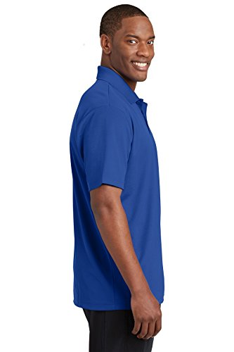 sport-tek Herren posicharge racermesh Bürostuhl Polo Blau - True Royal