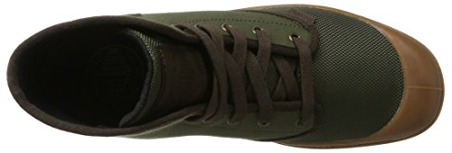 Palladium  Pampa Hi, Hohe Sneakers  homme Vert (Army Green/chocolate/mid Gum)