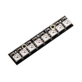 Adafruit Industries 1426 Rgb Neopixel Stick, With Drivers, 8pk