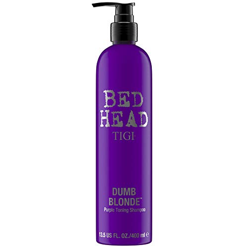 Tigi BED HEAD  Dumb Blonde Purple Toning Shampoo, 1er Pack (1 x 400 ml)
