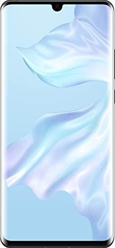 Huawei P30 Pro 8 GB RAM + 128 GB, Stunning 6.47 Inch OLED Display, Android.TM 9.0 Pie, EMUI 9.1.0 Sim-Free Smartphone, Dual SIM, Midnight Black, UK Version Best Price and Cheapest