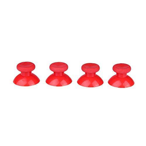 Cewaal bastoni di ricambio di joystick analogici 4pcs grip cap button spinge parti per xbox one game controller