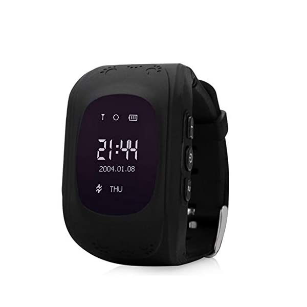 AchidistviQ Children Kids Anti Lost Smart Watch GPS Locating Tracker SOS Call Wristwatch