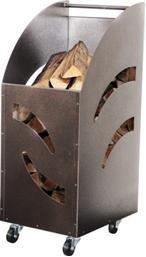 Artigian Ferro 9919010 Panier à bois en acier