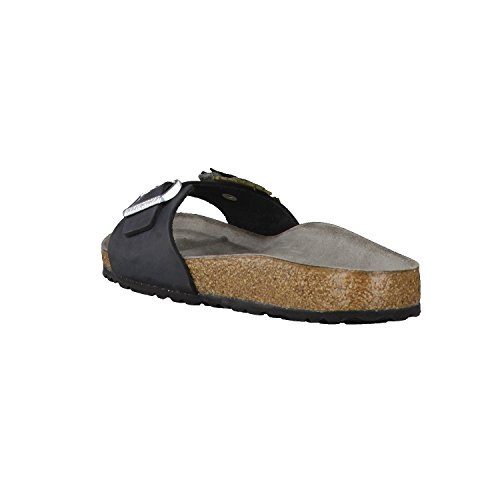Birkenstock Damen Sandale Madrid Flower Black