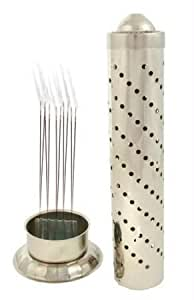 scube StainLess Steel Agarbatti Stand(steel,regular)