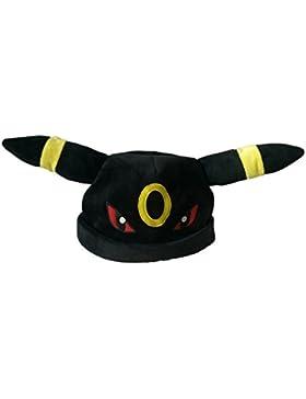 Evolución de auriculares sombrero cosplay negro y amarillo 100% algodón