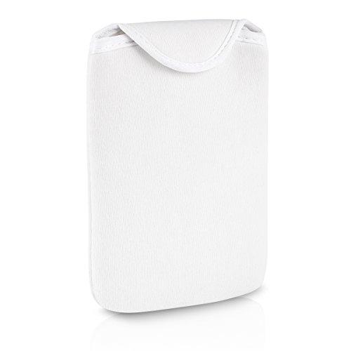 TrekStor Neoprene Tasche für eBook-Reader 3.0/Pyrus 2 LED weiß