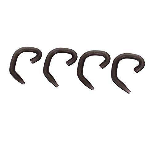 Ear Canal Phones (sourcing map 2 Paar grau Ohrbügel Ohr-Haken und Schlaufen-Clip-Ohrbügel für Bluetooth-Headset de)