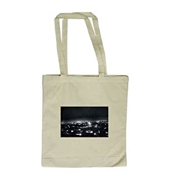 Dundee at night - Long Handled Shopping Bag