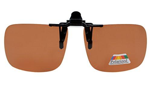Eyekepper Sur-Lunettes de Soleil - UV Protection - Polarisation Marron