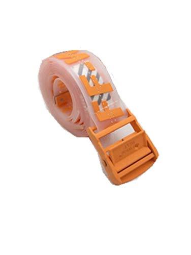 fashionbelt Cintura bianca trasparente trasparente stereo in gelatina off belt