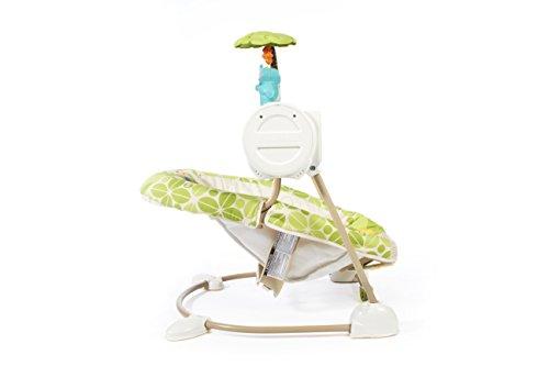 Fisher-Price Modelo BGM57 Hamaca Bebe electrica Blanco y verde - 3
