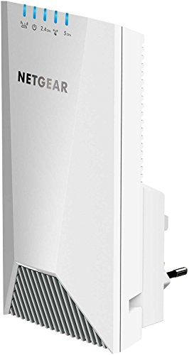 Netgear EX7500 Nighthawk X4S Ripetitore WiFi Tri-band AC2200 con Tecnologia Mesh, Connessione Wireless con un Unico Nome di Rete, Presa a Muro [Versione Italiana]