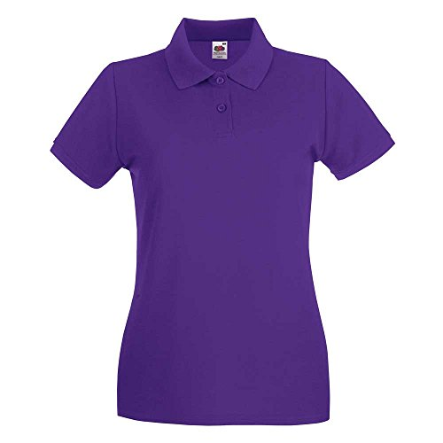 Fruit of the LoomDamen T-Shirt Purple