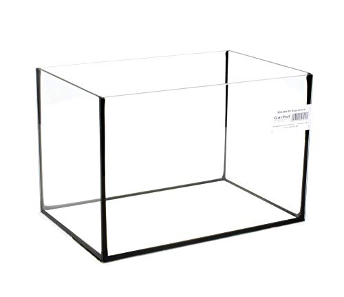 Aquarium Becken rechteckig Standard Größen Glasbecken Glas Aquarienbecken (30x20x20)