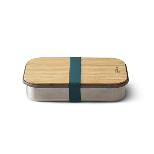 BLACK + BLUM Sandwich-Box aus Edelstahl, Edelstahl, Ocean, 22.3 x 15 x 5.2 cm