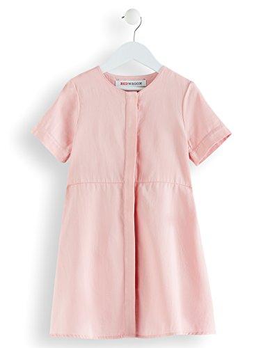 RED WAGON Mädchen Kleid in A-Linien-Form, Rosa (Pink Coral), 146 (Herstellergröße: 11 Jahre) -