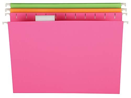 Pendaflex Glow, Datei Ordner, Brief Größe,, sortiert, Etui 12Stück (81670) (Pendaflex Brief)