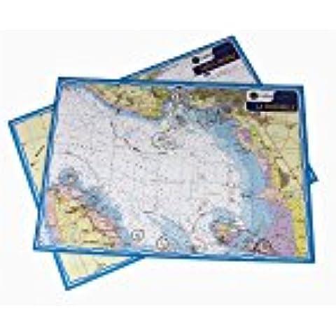 Carta nautica Navicarte Mininav Mediterraneo PORT CAMARGUE - Carta Nautica