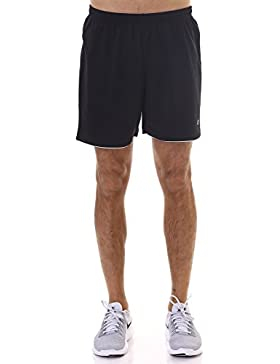 Champion M-Short Athl. Sport Pants po, Negro, XX-Large