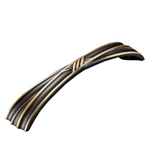 Sarazong Französischer Neoklassizistischer Griff aus Kupfer, weißer Schranktürgriff mit Zwei Löchern, Neuer Möbelgriff im europäischen Stil,2 -