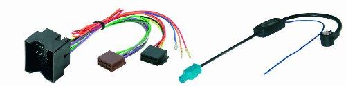 4/775 Kabelset für Autoradio und Antenne (Opel/Seat/Skoda/VW) Mehrfarbig