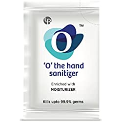 O' hand Sanitizers Pack of 2 boxes containing 100 sachets each