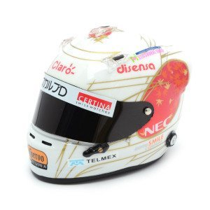 Sauber C30 - Japan GP with 1/8 Helmet (Model Car)
