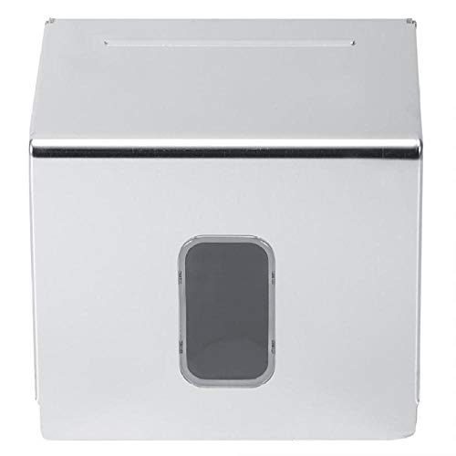 Toilettenpapier Halterung Auto Tissue Box Aluminium Wand Quadrat Tissue Box Startseite Toilettenpapierhalter Serviette Organizer Fall Toilettenpapierhalter Nass - Servietten Fall